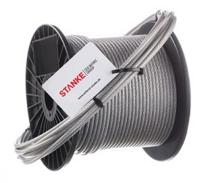 PVC Galvanized Steel Wire Rope